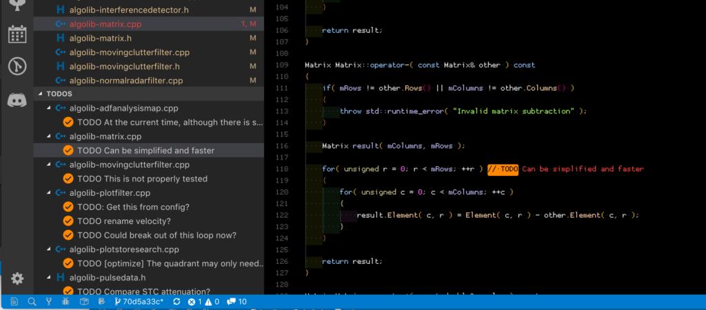 python vs code todo リスト